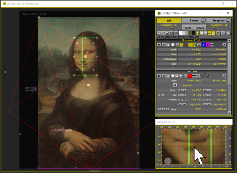Golden Ratio Screen shot